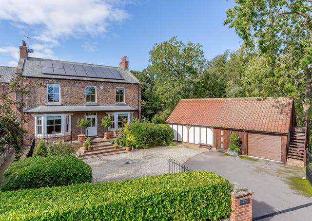 Old Farmhouse, Poplar Farm, Wormald Green - £1.3m with Strutt & Parker, 01423 561274.