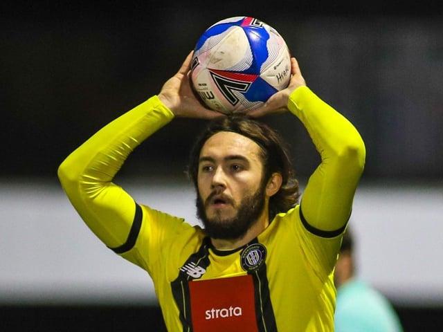 Dan Jones spent 2020/21 on loan at Harrogate Town from Salford City. Pictures: Matt Kirkham