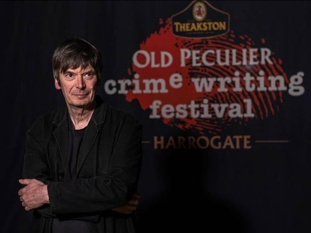 Ian Rankin OBE - Theakston Old Peculier Crime Writing Festival's Programming Chair for 2021 in Harrogate.