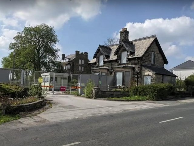 This is the entrance to the former police training base on Yew Tree Lane, Pannal Ash. Photo: Harrogate Borough Council.