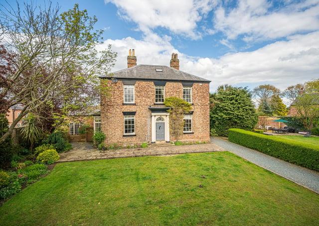 Langthorpe Manor, Langthorpe, Boroughbridge - £1.2m with Buchanan Mitchell, 01423 360055.