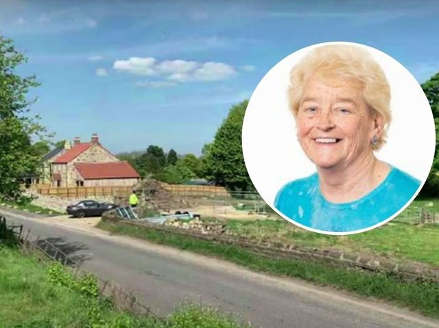 Councillor Margaret Atkinson has won permission to build a four-bedroom farmhouse opposite her existing home in Kirkby Malzeard.