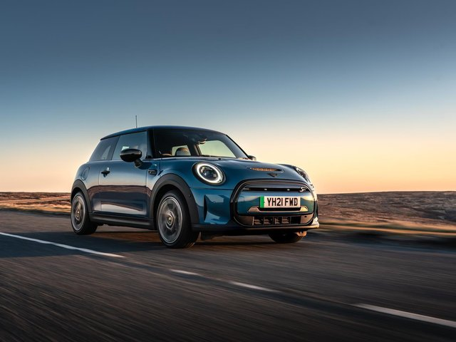 This is the electric version of the MINI