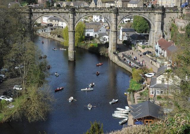 A bid to keep Knaresborough looking beautiful has been launched. Picture Gerard Binks
