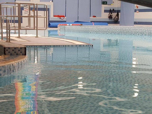 Knaresborough Pool has been closed since the first national lockdown began in March 2020. Photo: Harrogate Borough Council.