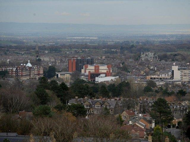 The Harrogate skyline.