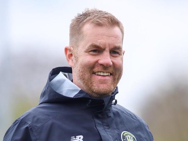 Harrogate Town manager Simon Weaver. Picture: Matt Kirkham