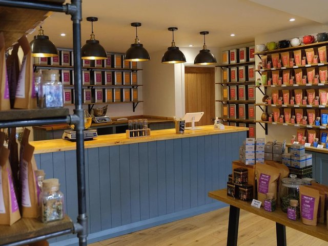 New shop in Harrogate - The interior of the True Tea Co which has opened its doors in the town centre.