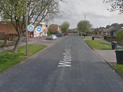 Armed police have been on the scene since early this morning on Bilton's Woodfield Road.