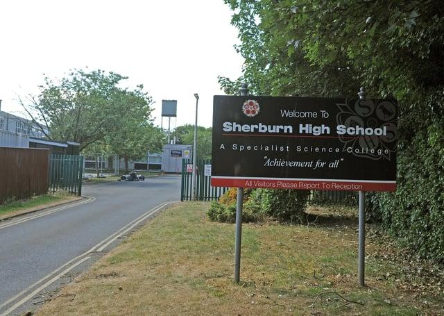Sherburn High School. Picture Tony Johnson.