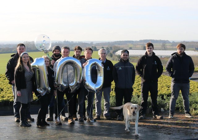 Horticultural nursery Johnsons of Whixley is celebrating its 100th anniversary this summer.