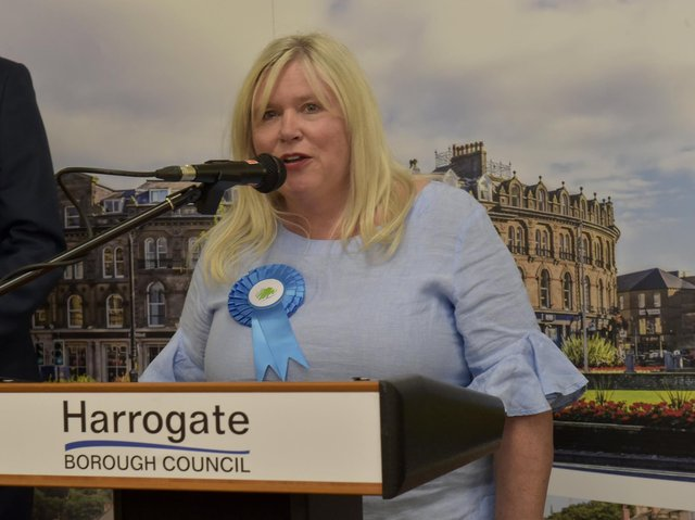 Stepping down - Coun Samantha Mearns, who was elected to serve the Scriven Park ward in Knaresborough on Harrogate Borough Council in 2018.