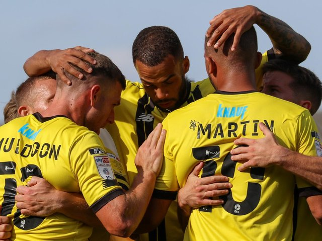 The 2021/22 season will be Harrogate Town's second as a Football League club. Picture: Matt Kirkham