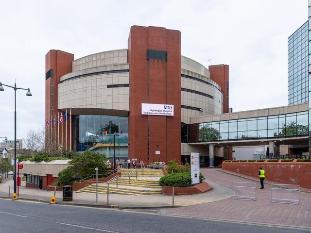 Harrogate Convention Centre.
