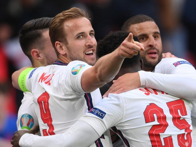 England play Germany at Wembley on Tuesday. Pictures: Getty Images