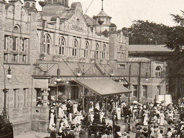 The Royal in Harrogate in its first early golden era before the First World War when it was known as the Kursaal.