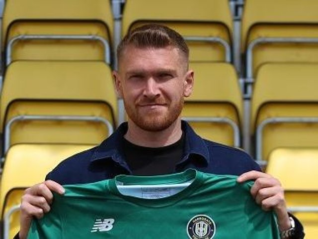 Harrogate Town have signed a new goalkeeper.