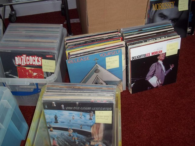 Vinyl paradise - The Harrogate Record Fair will be held in Wesley Centre.