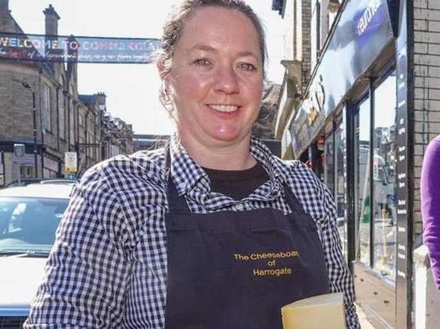 Gemma Aykroyd, the owner of The Cheeseboard on Commercial Street in Harrogate, said the easing of Covid rules would help older shoppers.
