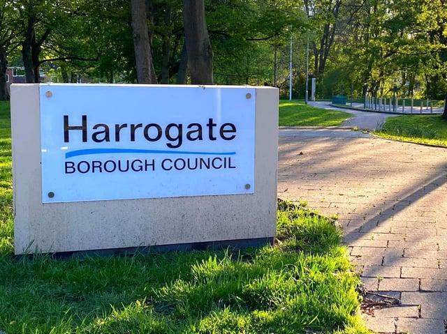 Photo: Harrogate Borough Council's headquarters on St Luke's Mount.