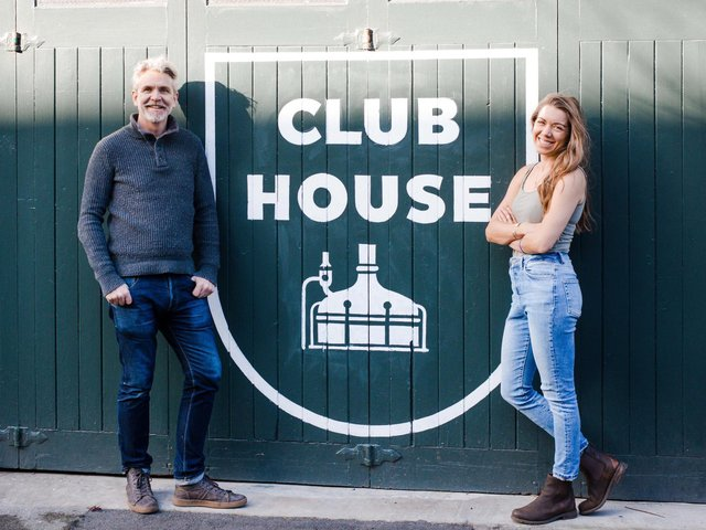 New independent venture - Harrogate resident and independent Elly Ball and Jim Mossman of Cold Bath Brewing bar.