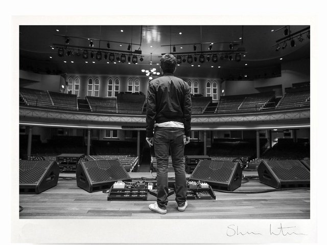 Harrogate exhibition - Noel Gallagher's Flying Birds at Grand Ole Opry in Nashville, 2018 by Sharon Latham.