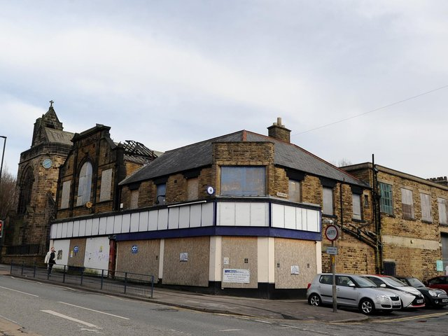 Is the burnt-out McColls building on Starbeck High Street going to be demolished and redeveloped?